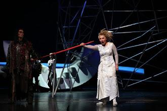 Photo: Füssen: GÖTTERDÄMMERUNG - Gastspiel der Nationaloper Sofia im September 2015. Inszenierung: Plamen Kartaloff. Schlussapplaus. Copyright: Svetoslav Nikolov
