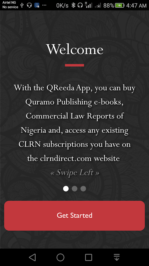 QReeda- screenshot