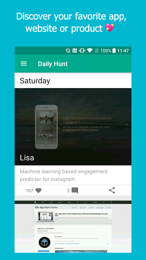 Hunt for Android- screenshot