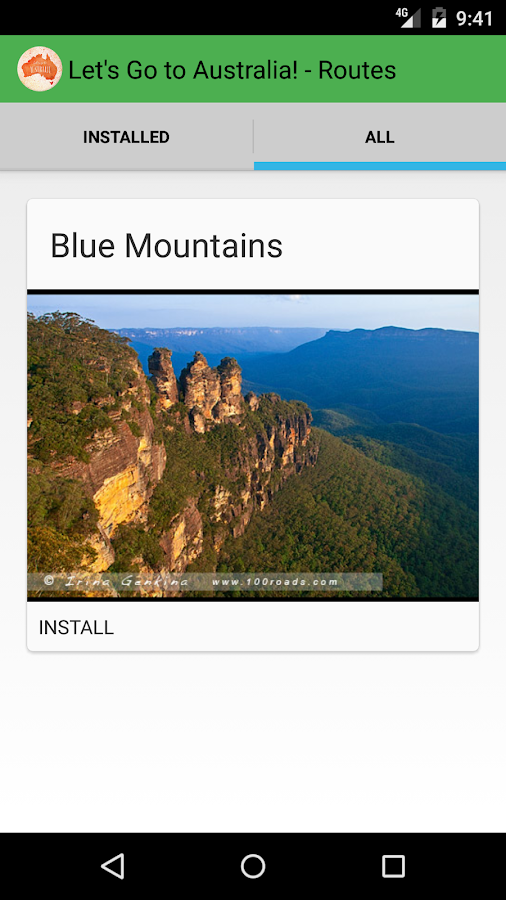 Blue Mountains - Let'sGoToAU- screenshot
