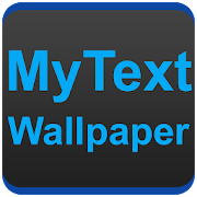 MyText Wallpaper : Text Wallpaper Maker icon