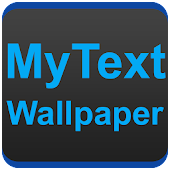 MyText Wallpaper : Text Wallpaper Maker