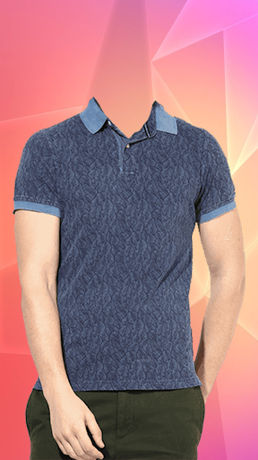 Man T-shirt Photo Suit screenshot 6