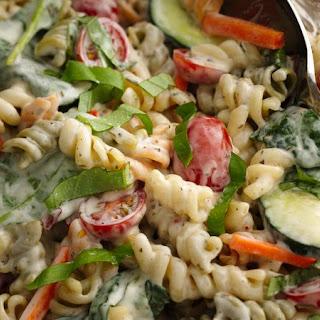 Ranch Spinach Pasta Salad.