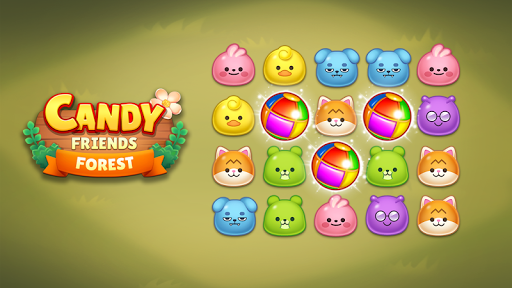Candy Friends Forest : Match 3 Puzzle 1.1.4 screenshots 9