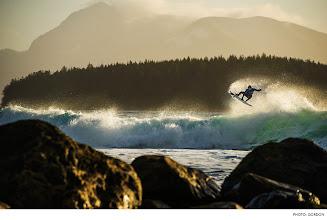 Photo: Sepp Bruhwiler, Canada. Photo: Gordon  #surferphotos