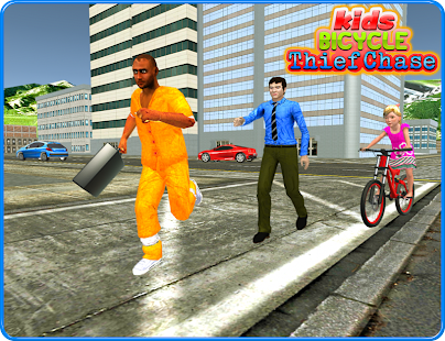 Kids Bicycle Rider Thief Chase- screenshot thumbnail