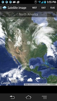 Weather Satellite Map