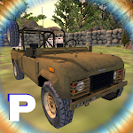Jeep Parking Drive Simulation Icon