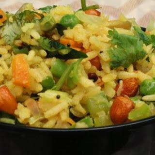 Puffed Rice Vegetable Upma - The quickest breakfast