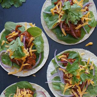 15-Minute BBQ Shredded Chicken Tacos
