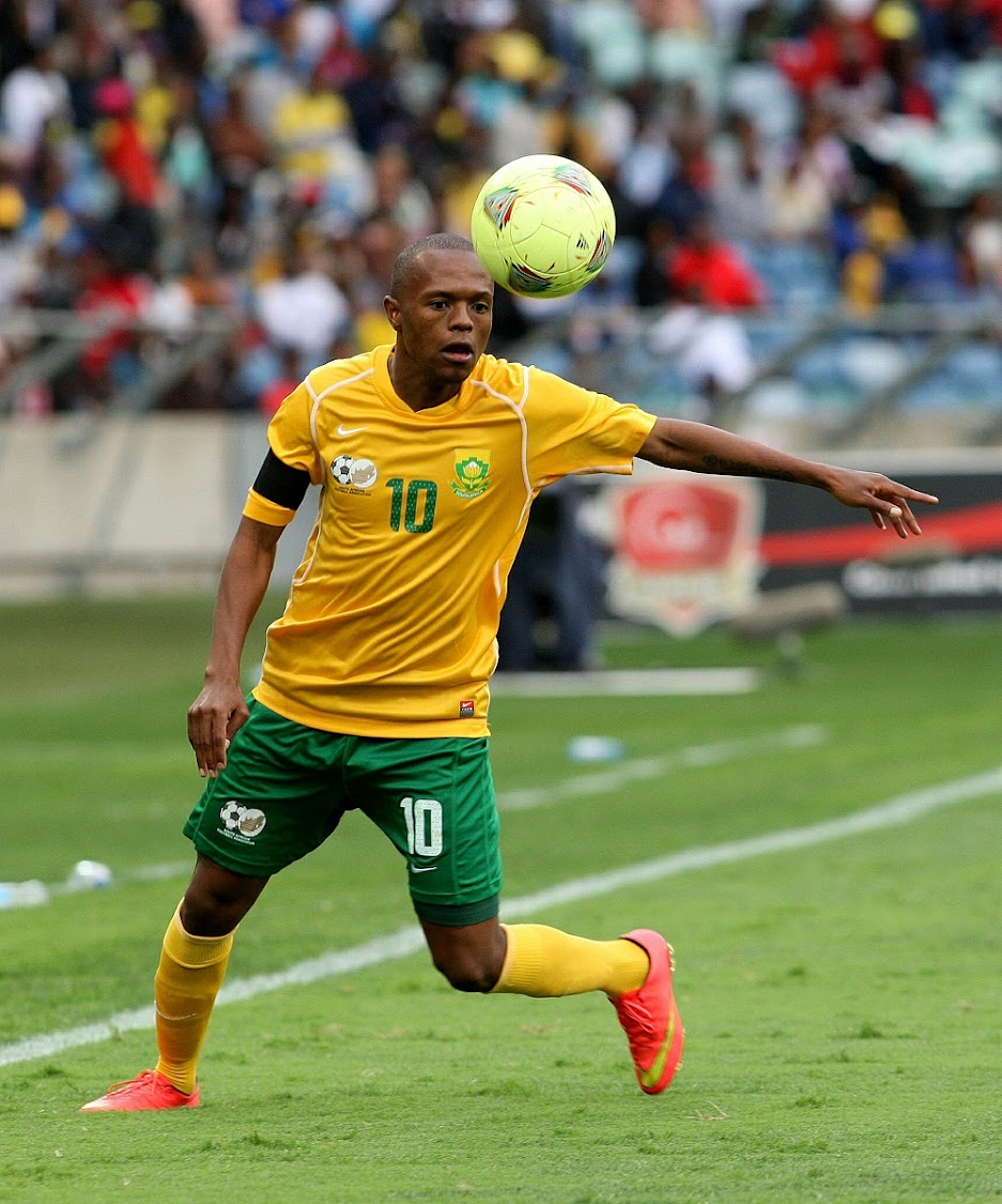 Thulani Serero is back in the Bafana Bafana mix.