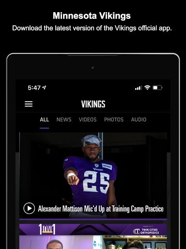 Minnesota Vikings Mobile screenshot 8