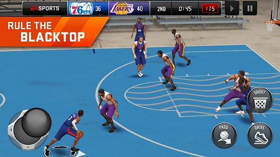NBA LIVE Mobile Basketball - náhled