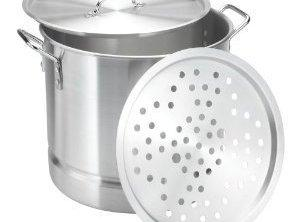 Take an extra large stock pot with a wire rack supported on two clean...