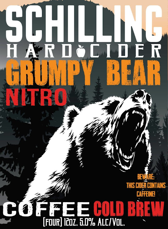 Logo of Schilling Grumpy Bear Cold Brew Coffee Cider