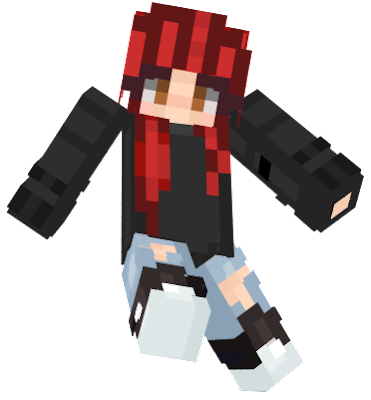A little edit from the original, which can be found in here: https://minecraft.novaskin.me/skin/4604865574338560/Red-Haired-Girl