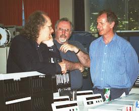 Photo: Jeff Berryman, Ralph Sayle, and Tom Nicol