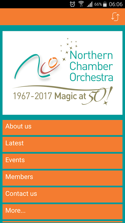 Northern Chamber Orchestra- screenshot