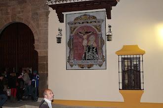 Photo: Mosaico del edificio de la Cofradía Stmo. Cristo de la Expiración y María Stma de los Dolores