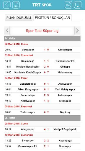 TRT Spor screenshot 3