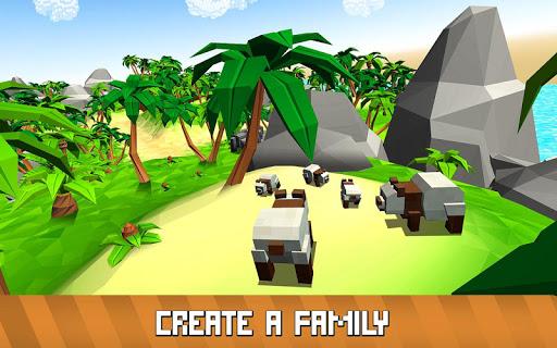 Blocky Panda Simulator - be a bamboo bear! 2.2.4 screenshots 4