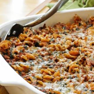 Cheezy Vegan Chorizo Pasta Bake