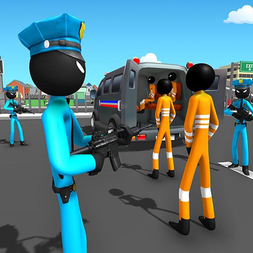 US Police Stickman Criminal Plane Transporter Game file APK for Gaming PC/PS3/PS4 Smart TV