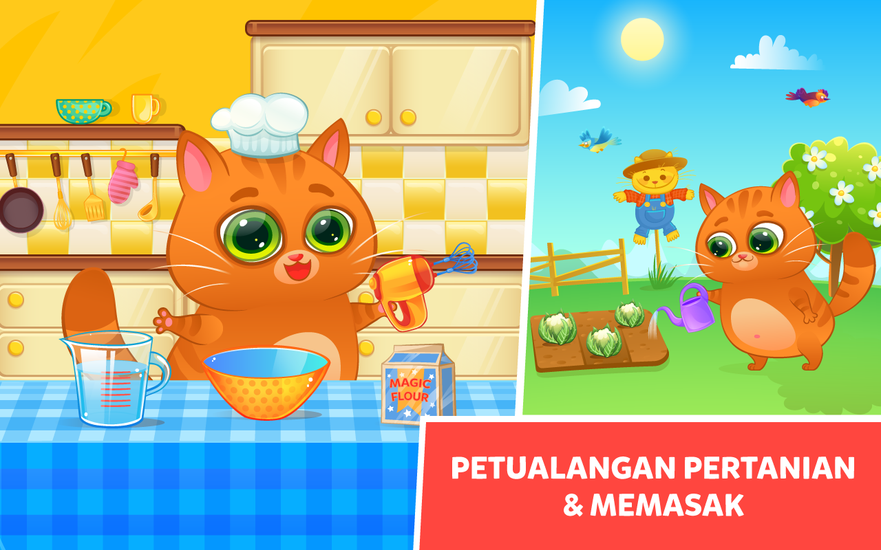 Bubbu Peliharaan Virtualku Apl Android Di Google Play