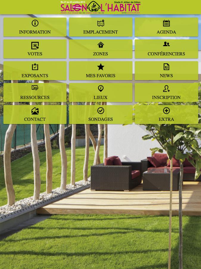 Salon de l habitat 2015 android apps on google play for Salon de l habitat lyon