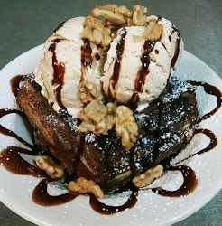 Chocolate Bourbon Bread Pudding