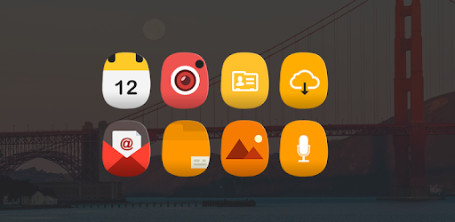 Cute themed Oval Icon Changer/Icon Pack for nova launcher, Evie Launcher & more