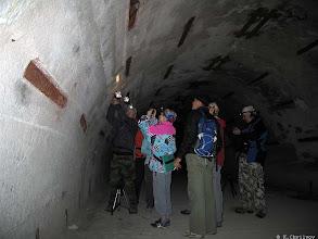 Photo: Замиаскированный командный пункт Черноморского флота. Уже ростут Сталактиты в 3 этажных подземельях. Они сделаны так, чтобы выдержать прямое попадание ядерной ракеты.