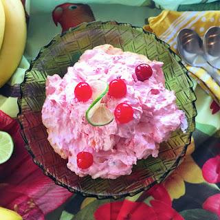 Pretty in Pink Summer Salad.