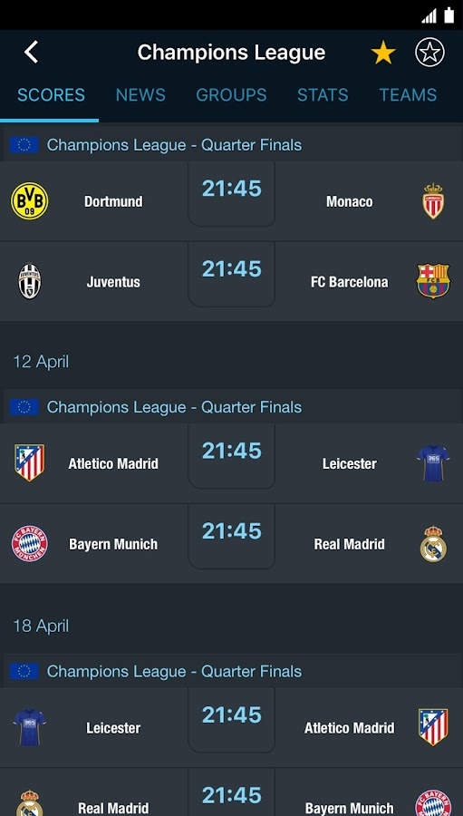 Screenshots of 365Scores - Sports Scores Live for iPhone
