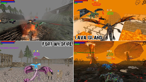 Dragons Online  3D Multiplayer 3.24 screenshots 7
