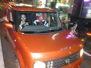 Photo: Halloween on Wheels in Shinsaibashi, Osaka   Taken by Be & Me (http://www2.gol.com/users/be-n-me/)
