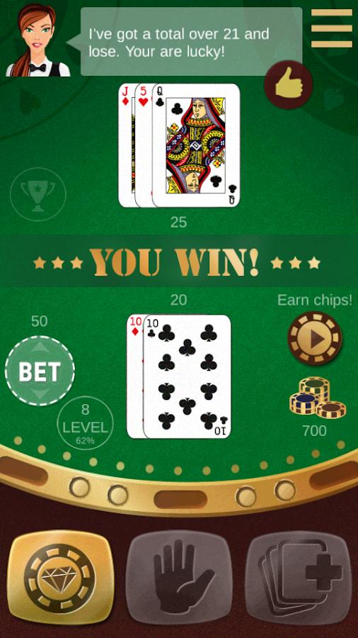 Live online blackjack for us players