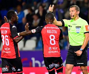 """Referee Department blijft bij mening over penalty in Genk-Seraing: """"Tackles van achteren horen niet in het voetbal"""""""