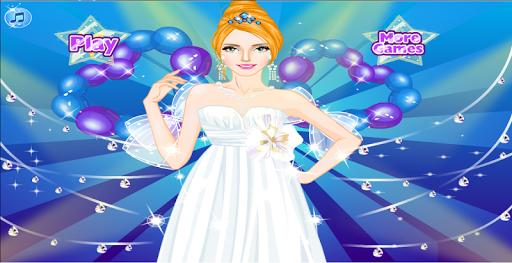 王女の結婚式 - ドレスアップ