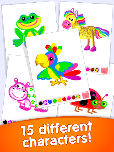 Learning Kids Painting App! Toddler Coloring Apps APK download ...