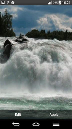 Waterfall Live Wallpaper With 6.2 screenshots 4