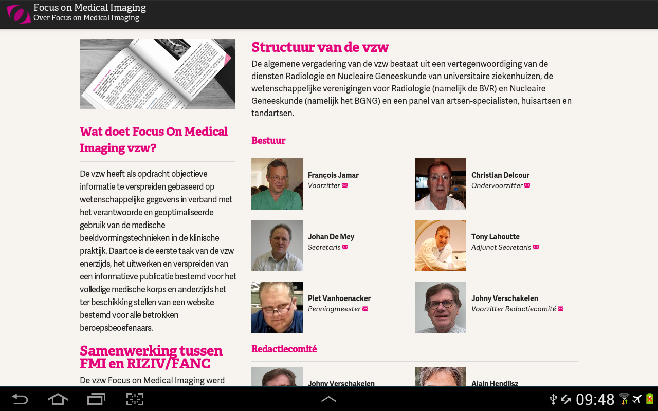 Focus On Medical Imaging- screenshot