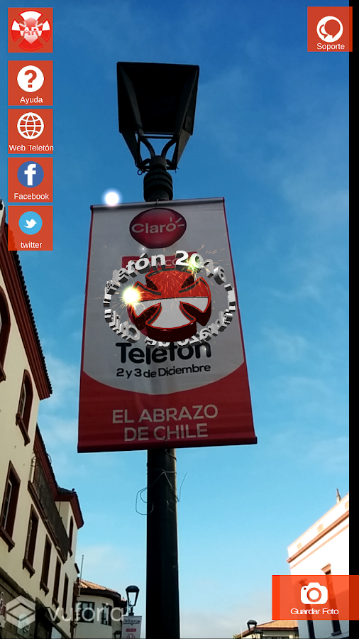 Teleton AR 2016- screenshot