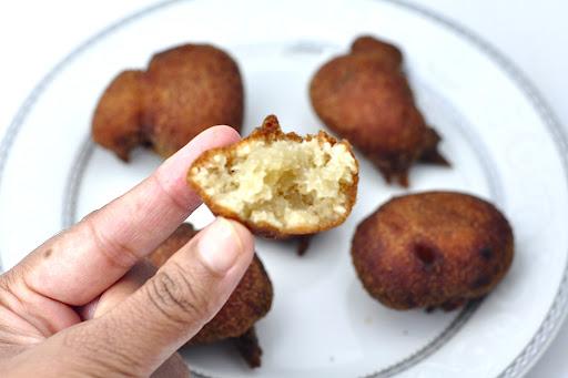 Sweet banana maida appam paniyaram antos kitchen evening snack for kids forumfinder Images