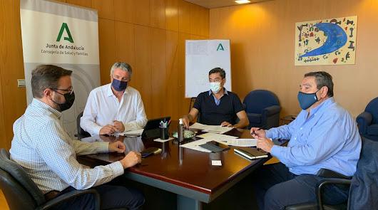 Reunión del Comité territorial de Salud Pública de Alto Impacto, en una imagen de archivo.