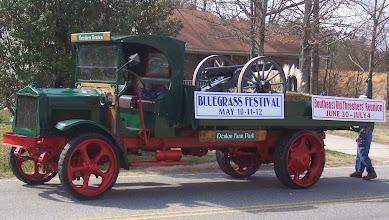 Photo: Bluegrass float - Denton Centennial 2007 ---1907 2007 - http://denton100.com