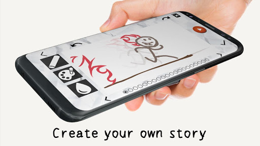 Stickman: draw animation 2.5 screenshots 1