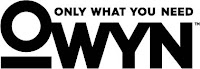 OWYN (Only What You Need) logo
