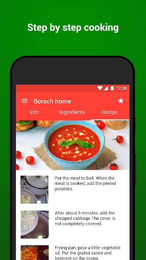 Recipes with photo from Smachno 1.63 screenshots 3